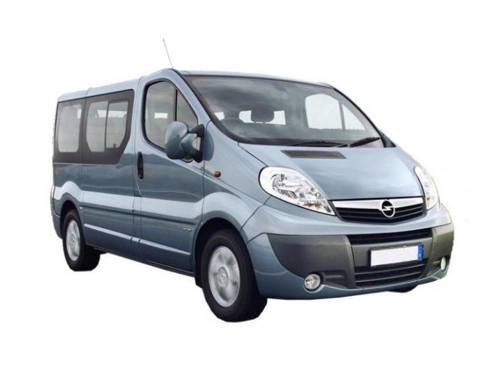 Renault Trafic 1+8 kohta